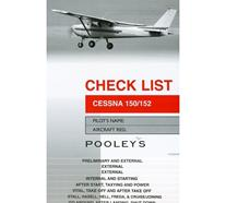 POOLEYS CHECK LIST - CESSNA 150/152 (NCL020)