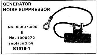 CAPACITOR - NOISE SUPPRESSOR