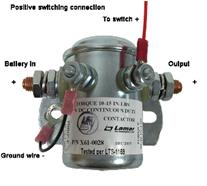 CONTACTOR, INTERMITTENT, 24V, N/O (STARTER