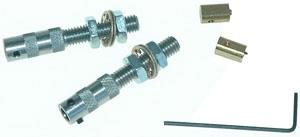 DUAL THROTTLE HARDWARE KIT FOR ROTAX ENGINES