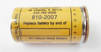 BATTERY FOR DK120 CODED B and  D  ELT **UN3090** Fully Hazardous