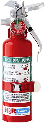 FIRE EXTINGUISHER  w/bracket (C of C ONLY) 1.25 lb./Gross weight 2.3 Lb