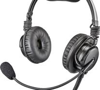 BATTERY FREE NEXT GENERATION ULTRA LIGHT ANR, DOUBLE SIDED HEADSET / TWIN PLUG,